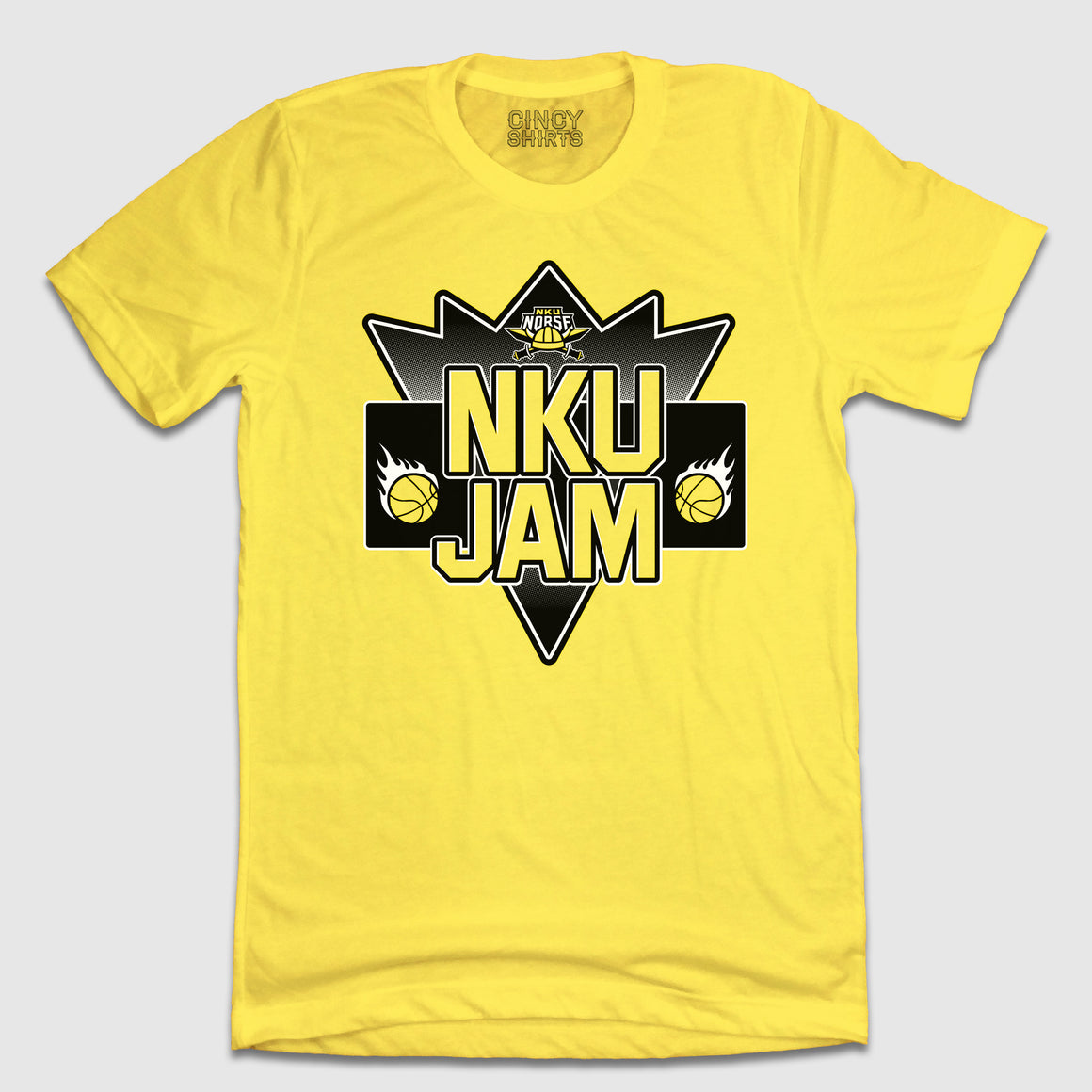 NKU JAM Northern Kentucky University Basketball Tee - Cincy Shirts