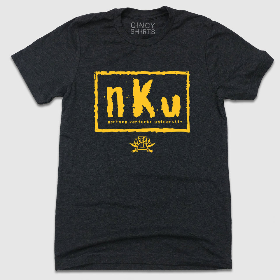 NKU - Professional Wrestling Logo - Cincy Shirts