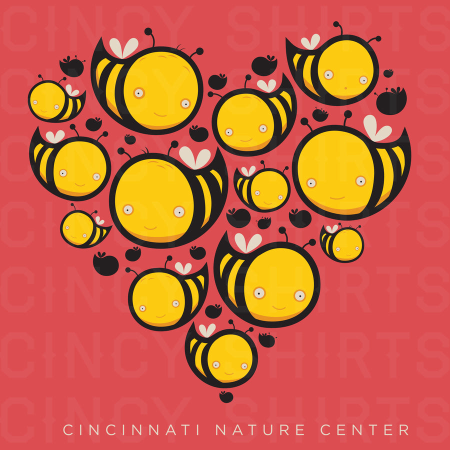 Love Bees - Cincinnati Nature Center T-shirt