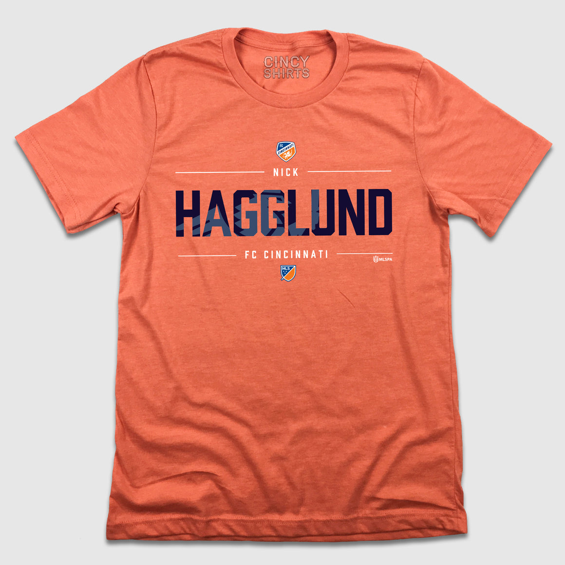 Nick Hagglund MLS FC Cincinnati T-shirt