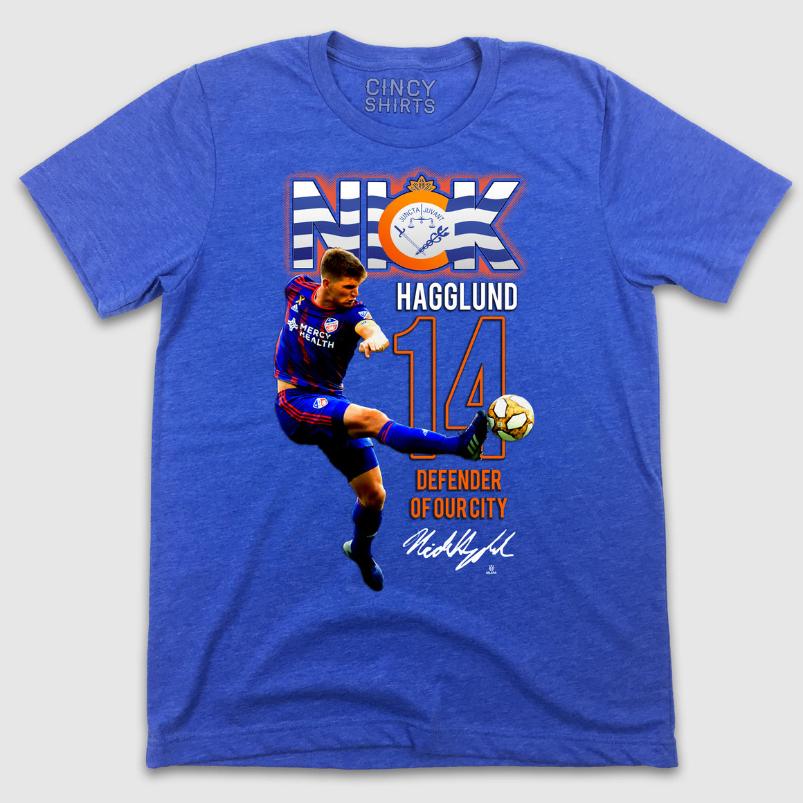 Official Nick Hagglund MLSPA Spotlight Tee - Cincy Shirts