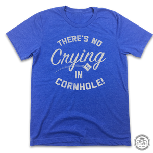 There's No Crying In Cornhole!