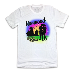 "Norwood Airbrush ""Gem of The Highlands"" - Cincy Shirts"