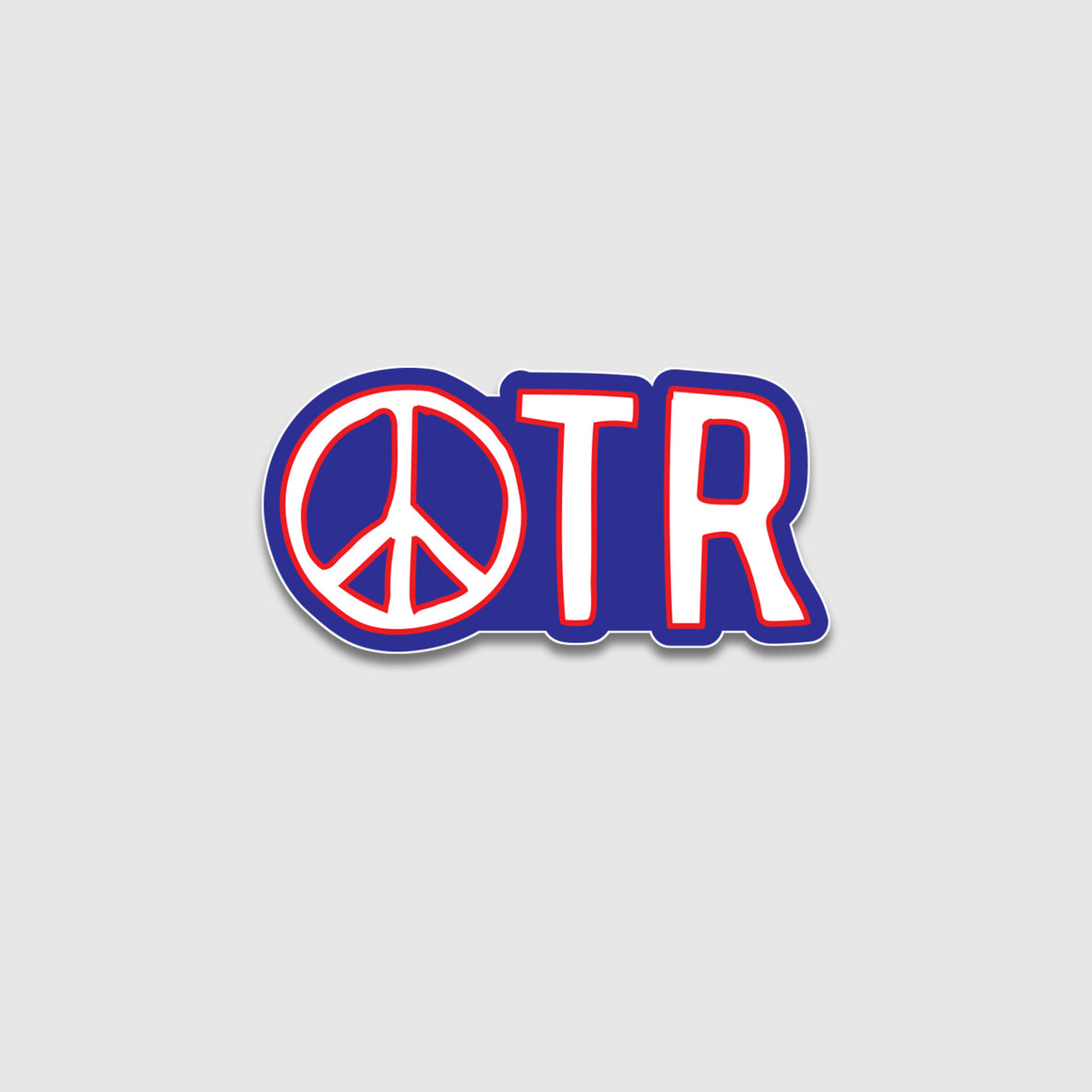 Peace In OTR Sticker - Cincy Shirts