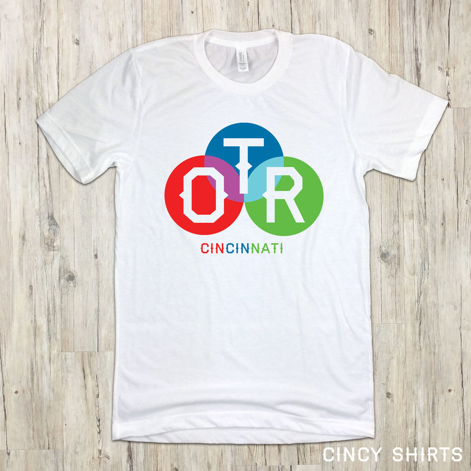 OTR Color Circles - Cincy Shirts