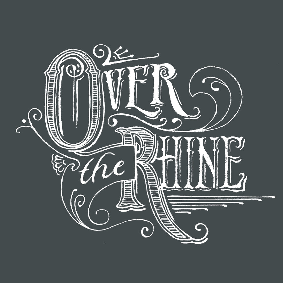 Over The Rhine Script Logo T-shirt