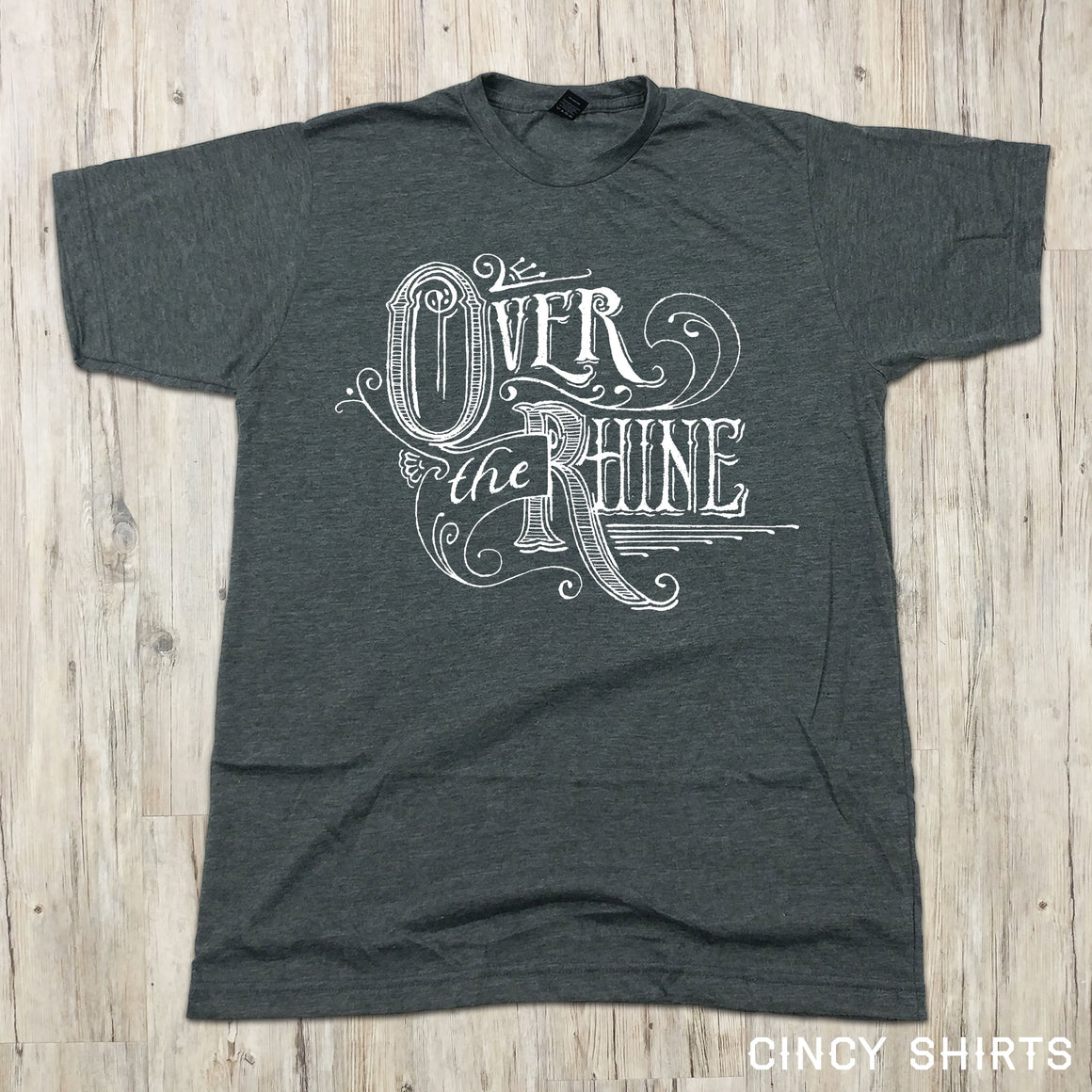 Over The Rhine Script Logo - Cincy Shirts