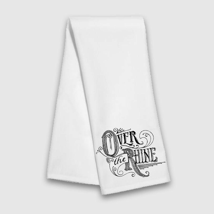 Over The Rhine Tea Towel - Cincy Shirts
