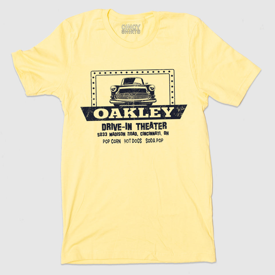 Oakley Drive-In Theater - Cincy Shirts