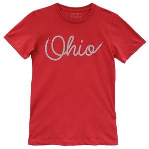 Ohio Shoelace T-Shirt - Cincy Shirts