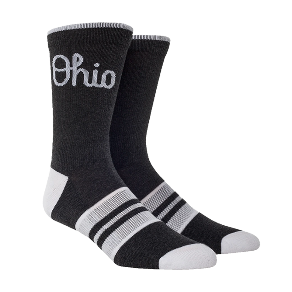 OSU Script Logo Socks - Cincy Shirts