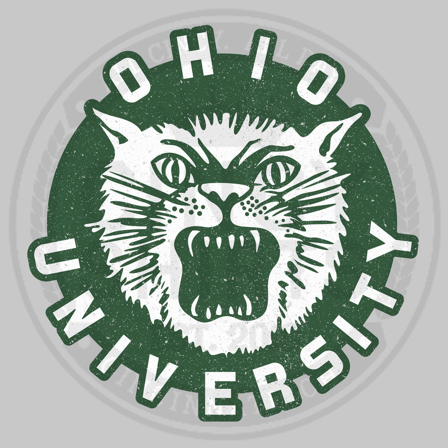 Ohio University Vintage Bobcat Logo