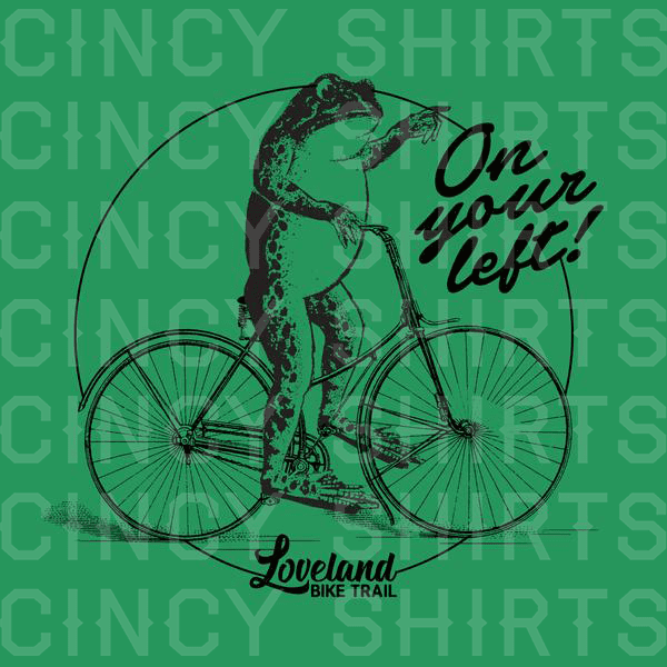 """On Your Left!"" - Cincy Shirts"