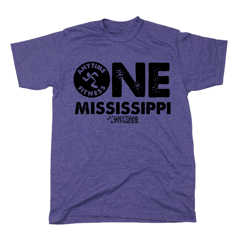 One Mississippi - Anytime Fitness - Cincy Shirts