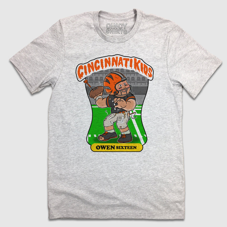 Cincinnati Kids - Owen Sixteen - Cincy Shirts
