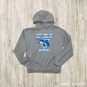 Sharks Mascot - Cincy Shirts