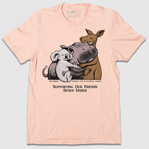 Fiona & Friends - Australia Fundraiser Tee - Cincy Shirts