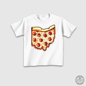 Pizza Ohio - Youth Sizes - Cincy Shirts