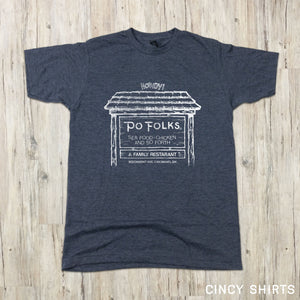 Po Folks Cincinnati T-shirt