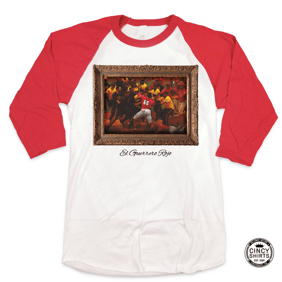 EL Guerrero Rojo - The Red Warrior - Cincy Shirts