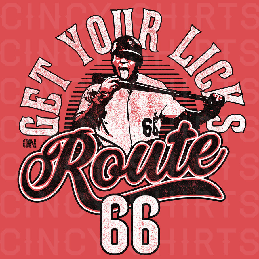 Get Your Licks On Route 66 - Cincy Shirts