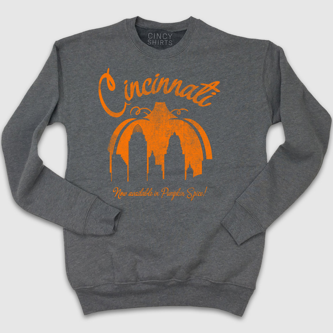 Cincinnati Now Available in Pumpkin Spice - Cincy Shirts