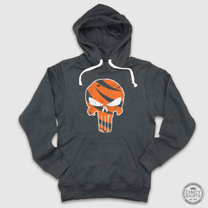 Who Dey Punisher - Hoodie - Cincy Shirts