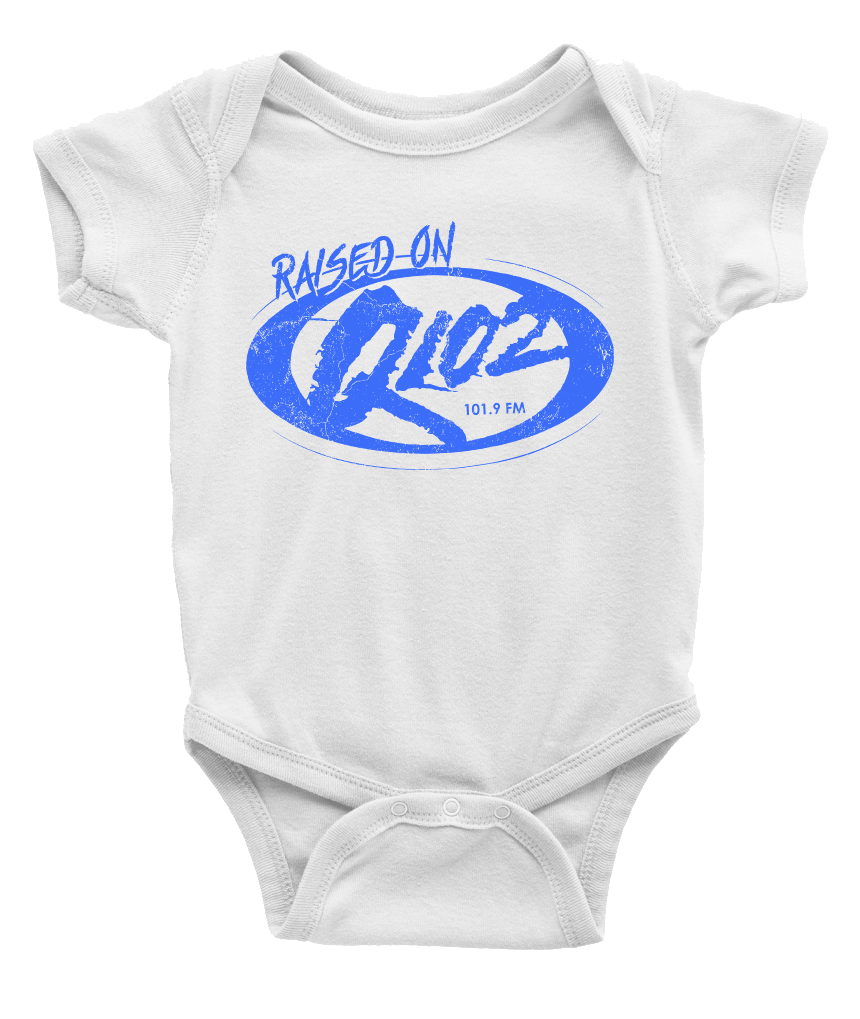 Raised on Q102 - Youth Sizes - Cincy Shirts