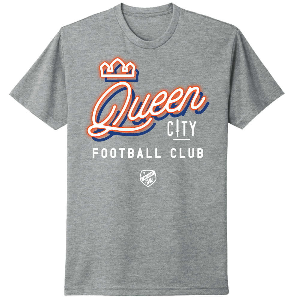 FC Cincinnati Queen City Neon Tee