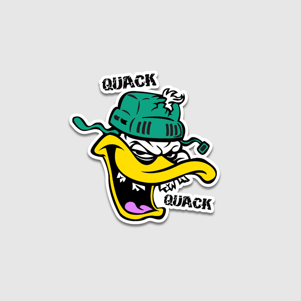 Shattered Teeth Mighty Ducks Sticker - Cincy Shirts