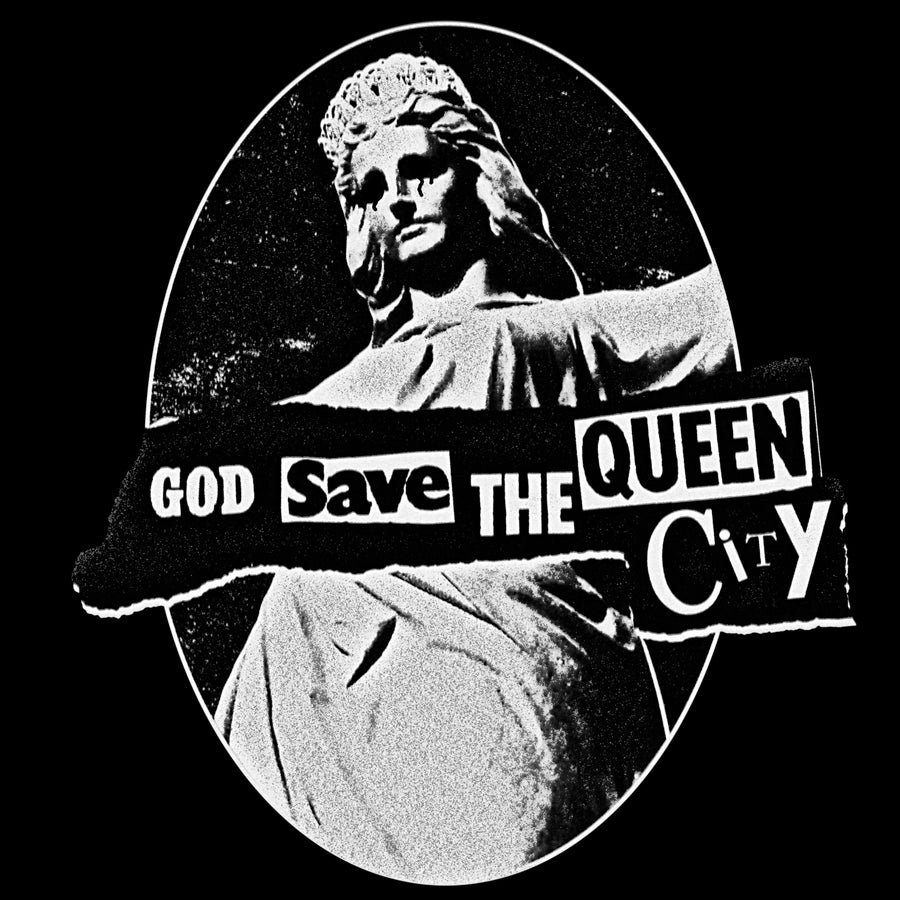 God Save the Queen City T-shirt