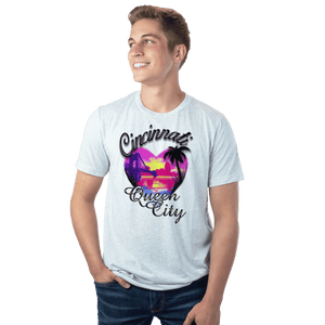 Cincinnati Queen City Airbrush - Spring Break - Cincy Shirts