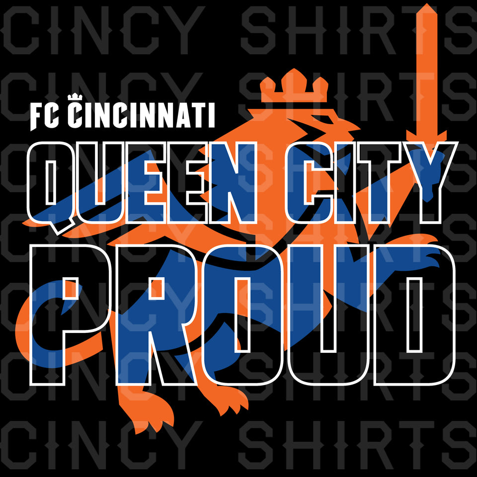 FCC Queen City Proud - Cincy Shirts