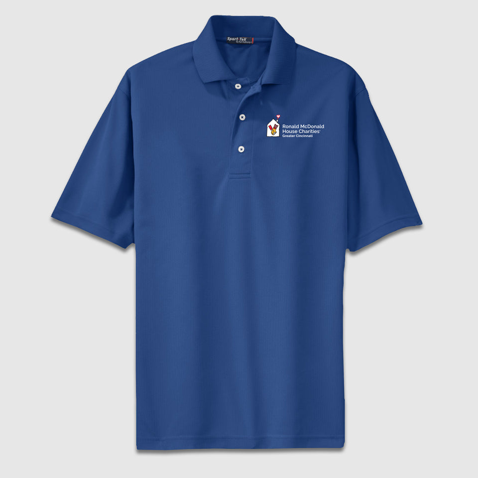 Sport-Tek Dri-Mesh Polo Ronald McDonald House Charity - Cincy Shirts