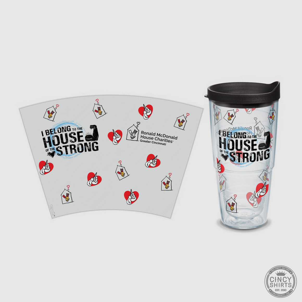 Ronald McDonald House Charities Tervis Tumbler - Cincy Shirts