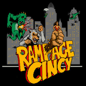 Rampage Cincy - Youth Tee