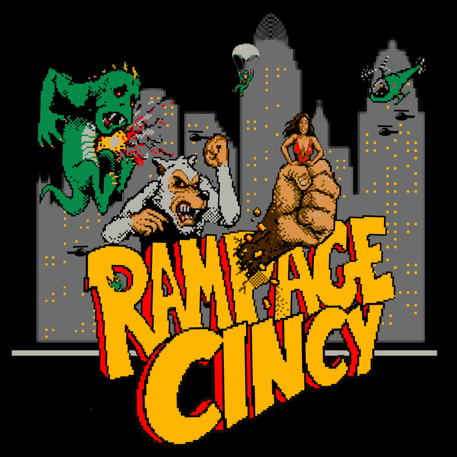 Rampage Cincy - Cincy Shirts