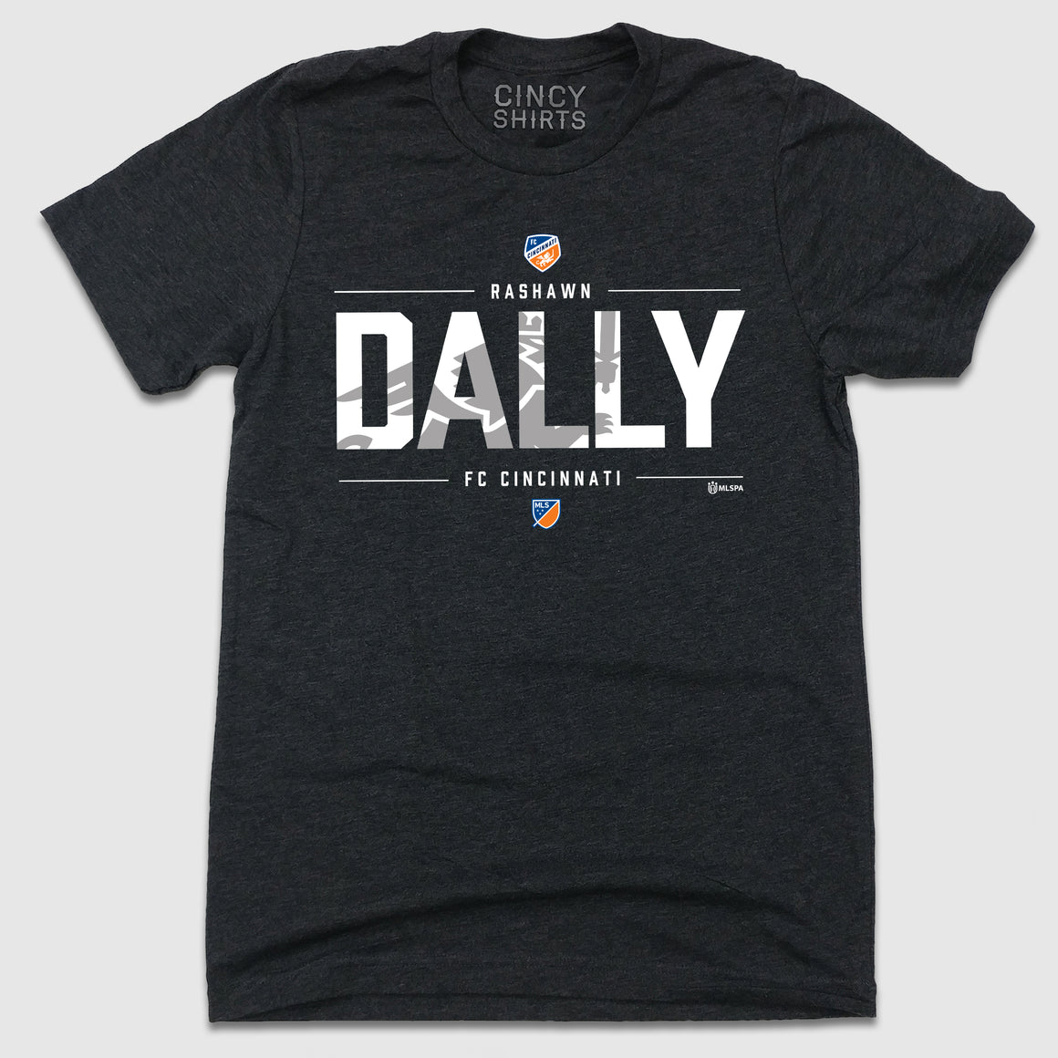 Official Rashawn Dally MLSPA T-shirt FC Cincinnati
