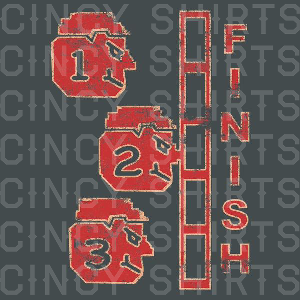Great Red Race - Cincy Shirts
