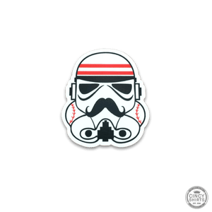 Cincy Baseball Trooper Sticker