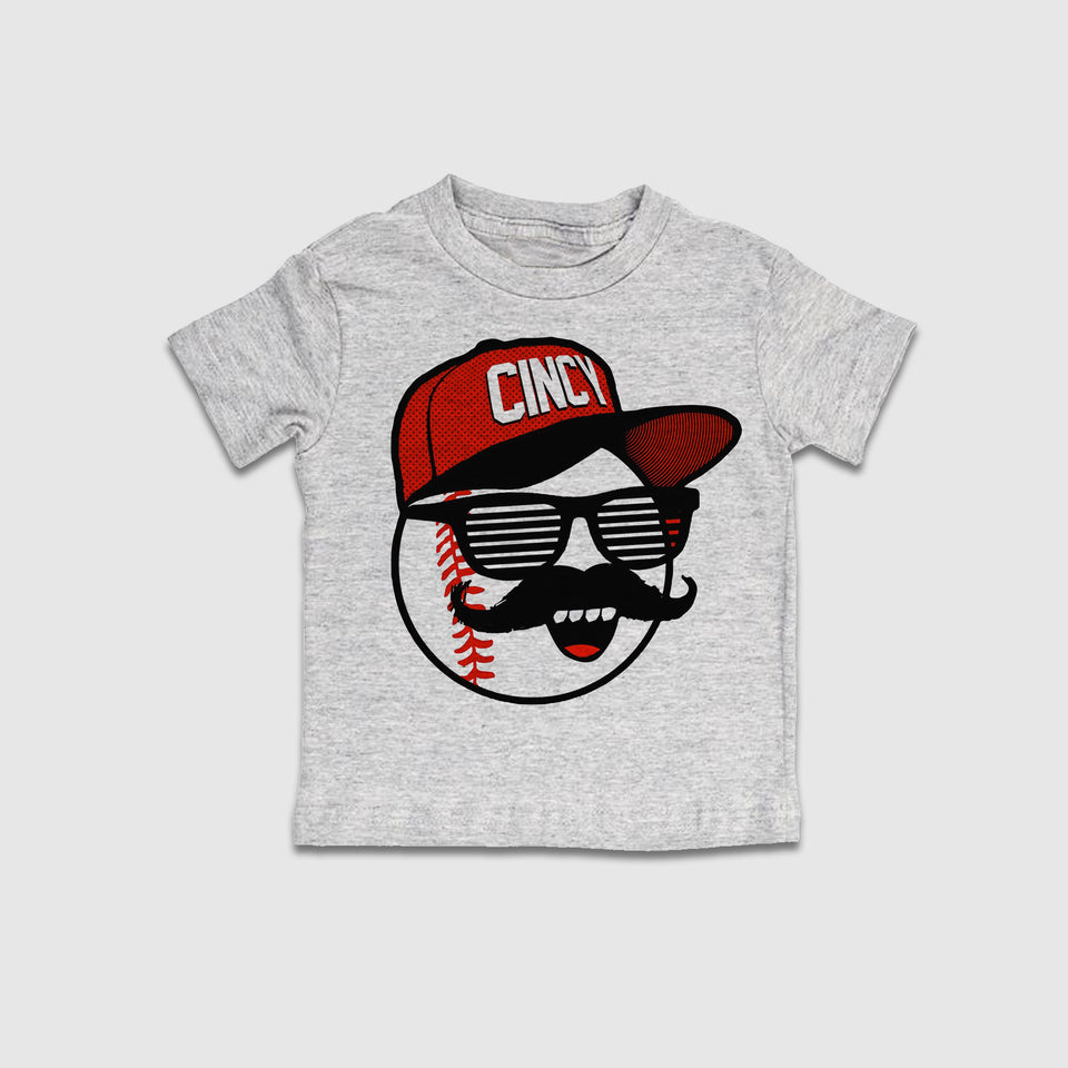 Mr. Red Shades - Youth Sizes - Cincy Shirts