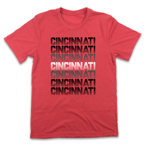 Red & Black Cincinnati Retro