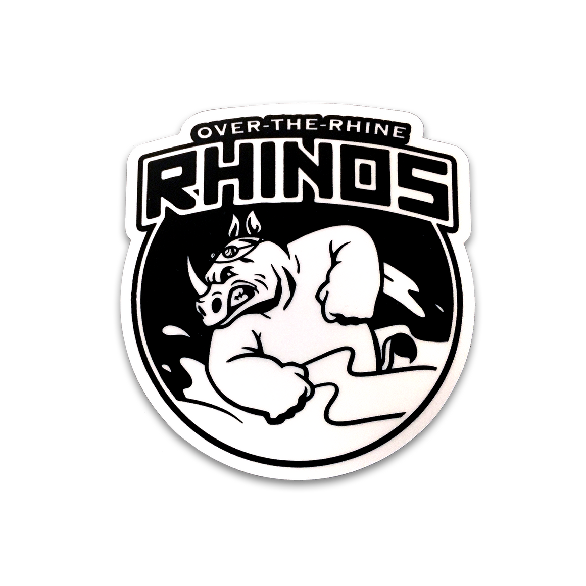 Over-the-Rhine Rhinos Sticker