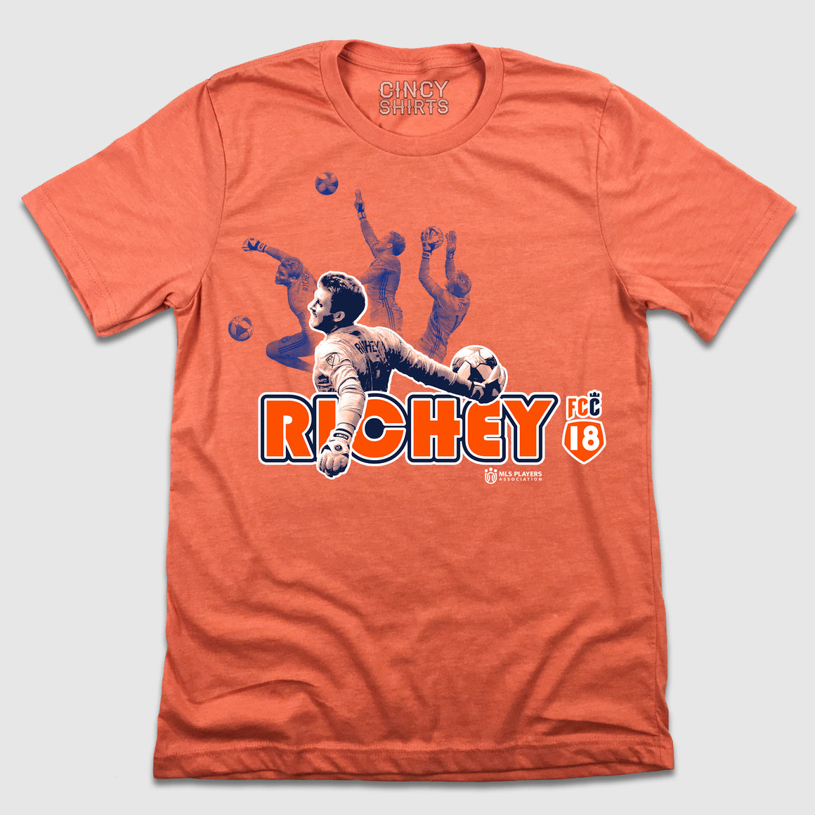 Spencer Richey MLSPA - FC Cincinnati Player Tee