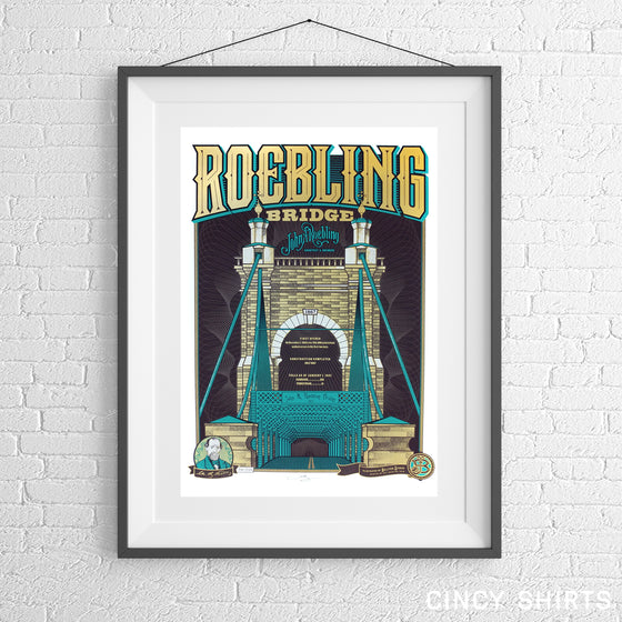 Roebling Bridge - Limited Edition Print