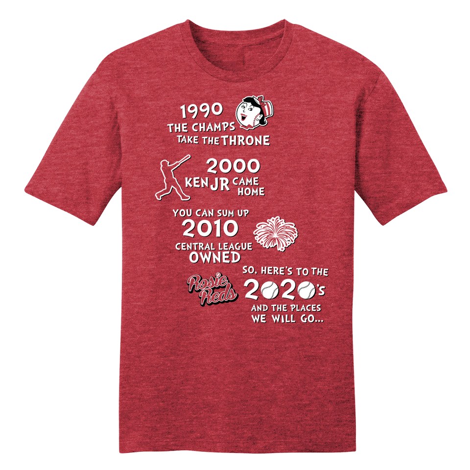 Rosie Reds 2020 Playoffs - Cincy Shirts