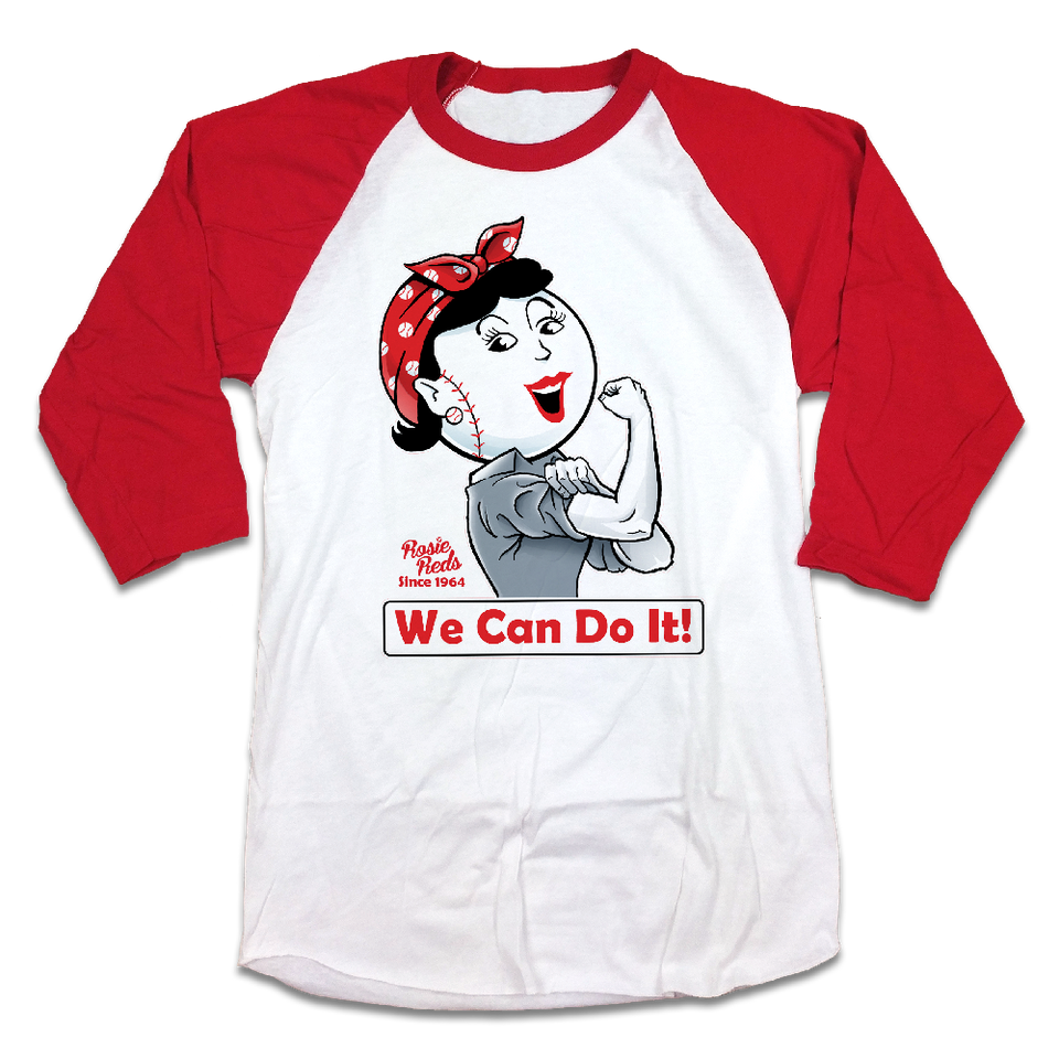 We Can Do It! - Rosie Reds - Cincy Shirts