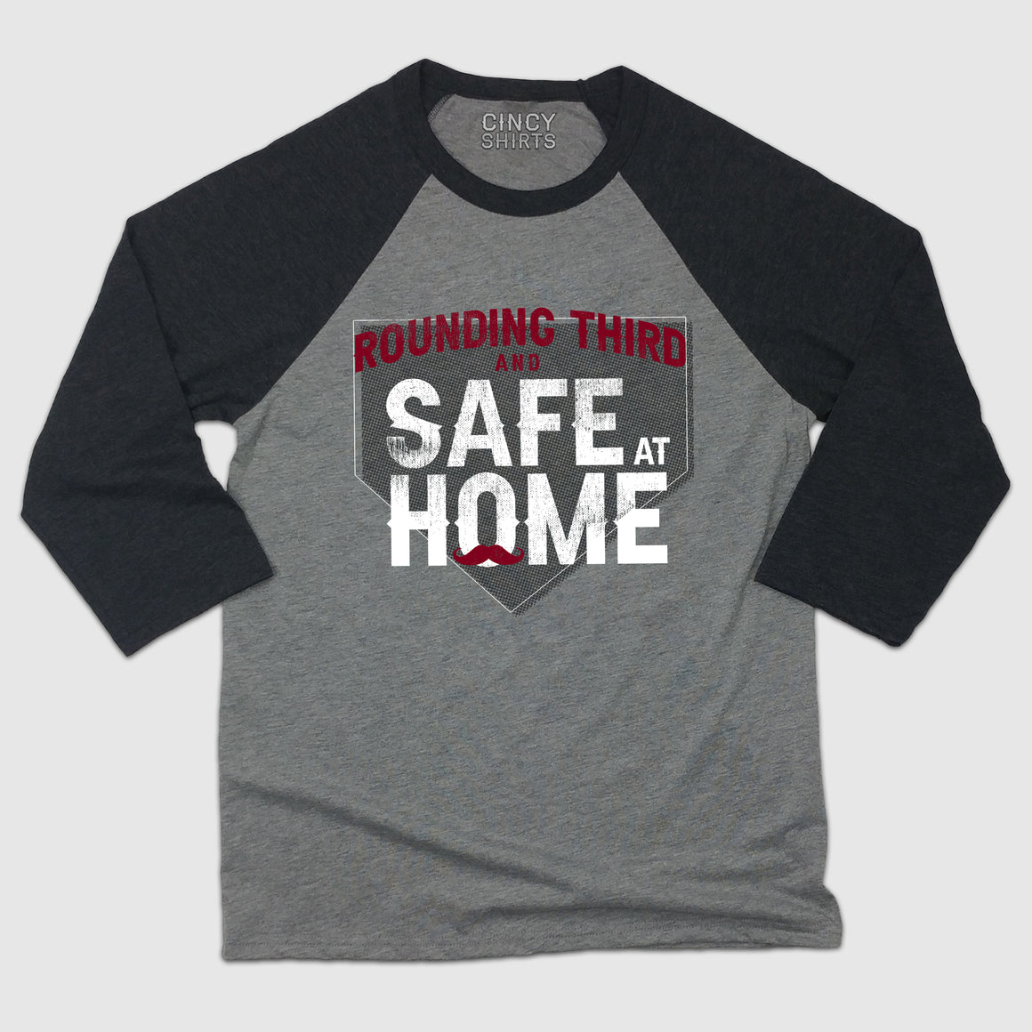 Rounding Third And Safe At Home baseball T-shirt