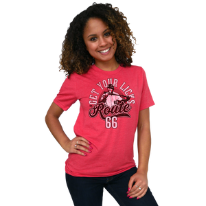 Get Your Licks On Route 66 T-shirt