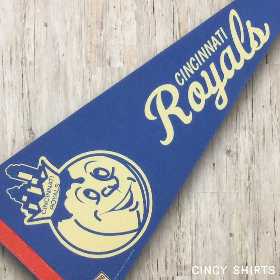 Cincinnati Royals Pennant - Cincy Shirts
